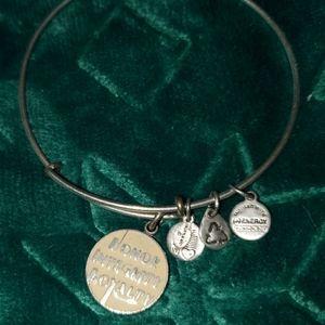 Alex & Ani charm bracelet